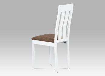 elegantní dřevěná bílá židle BC-2602 WT detail1