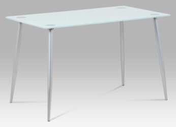 skleněný jídelní stůl GDT-115 wt