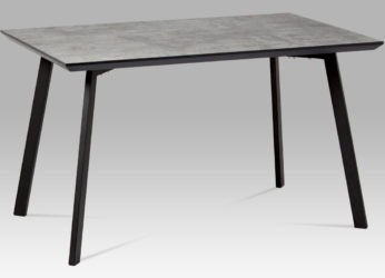 designový jídelní stůl v dekoru beton