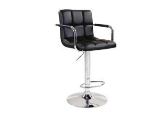 Barová židle LEORA černá