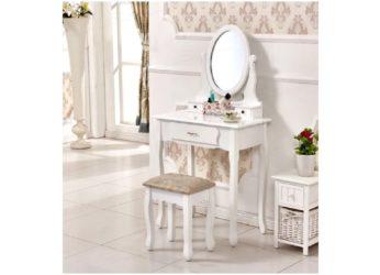 toaletní stolek se stoličkou Linet