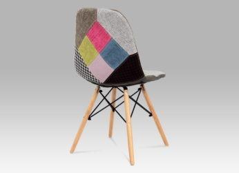 designová židle ve stylu patchwork CT-724 PW2 detail1