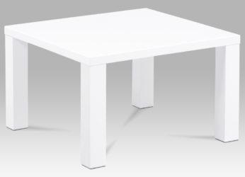moderní stolek v bílém lesku AHG-501 WT