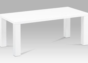 moderní stolek v bílém lesku AHG-502 WT