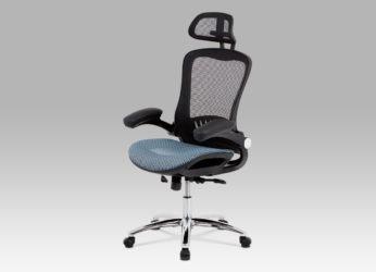 manažerské kancelářské křeslo KA-A185 blue