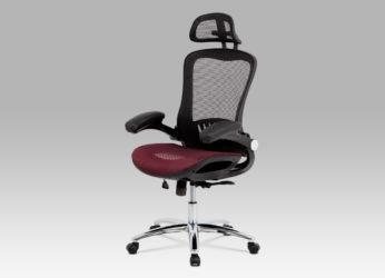 ergonomické kancelářské křeslo KA-A185 red