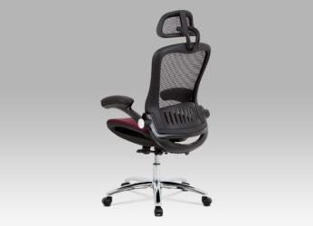 ergonomické kancelářské křeslo KA-A185 red detail1